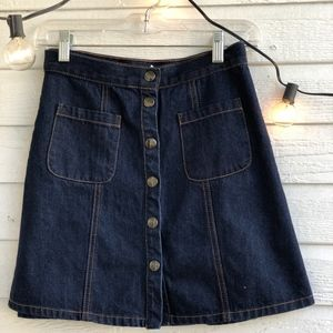 Button down mini skirt - BDG